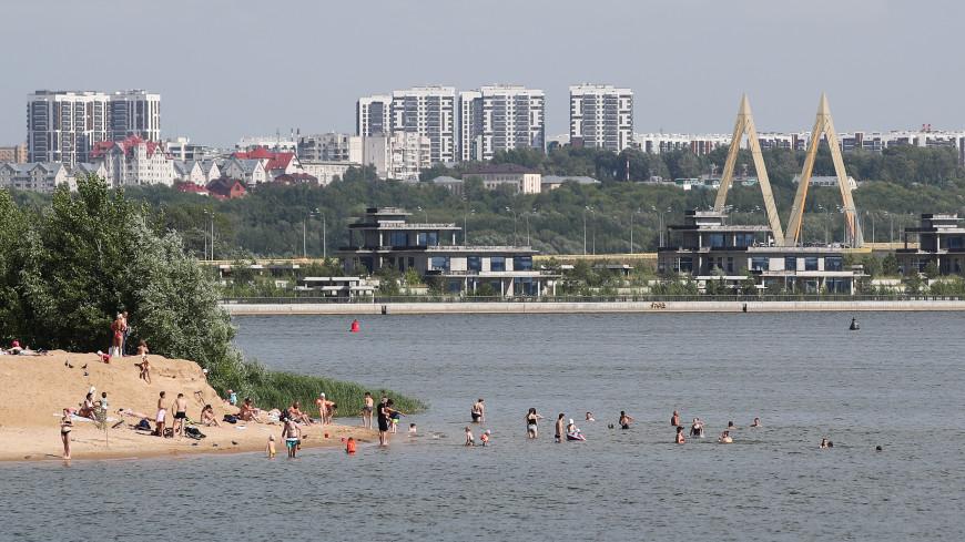 Штормовое предупреждение из-за аномальной жары объявили в Татарстане