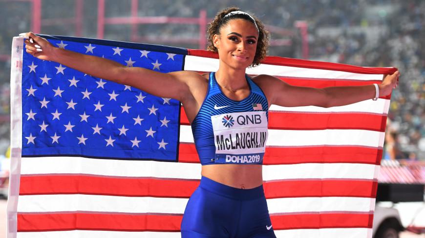 Американка Маклафлин установила мировой рекорд в беге на 400 метров с барьерами