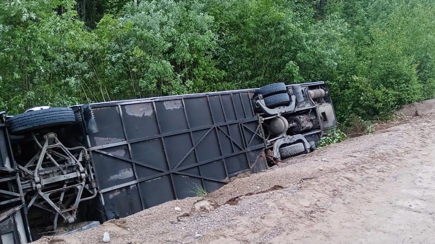 Следователи проверят обстоятельства ДТП с автобусом в Ленинградской области