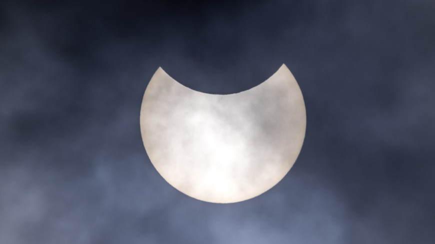 В Якутии впервые за 55 лет увидели кольцеобразное солнечное затмение