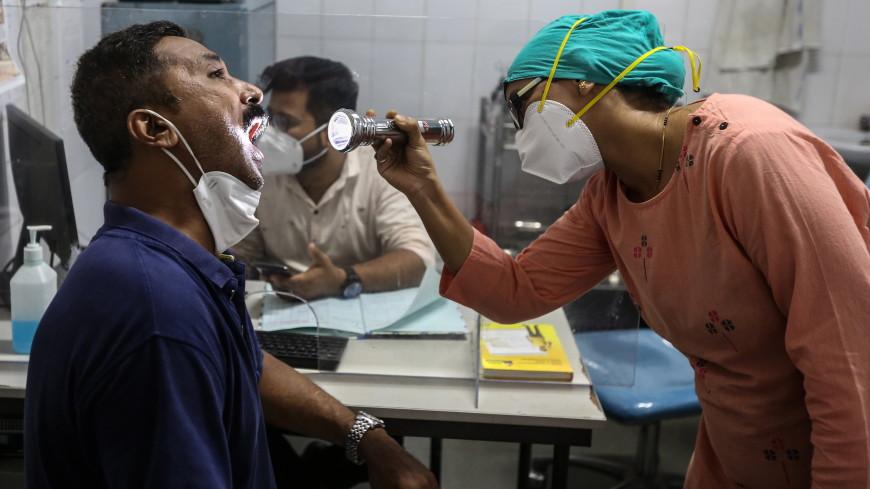Число заболевших «черной плесенью» в Индии за две недели увеличилось почти в три раза