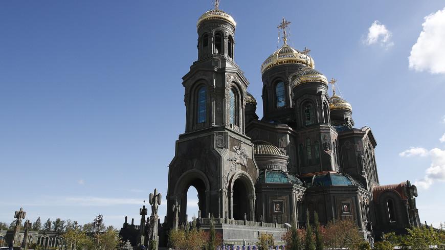 Частицу Вечного огня с Могилы Неизвестного Солдата доставили в Главный храм ВС России