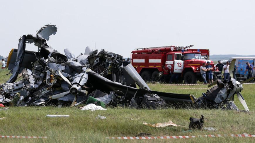 «Он падал так медленно»: очевидцы – о катастрофе самолета с парашютистами