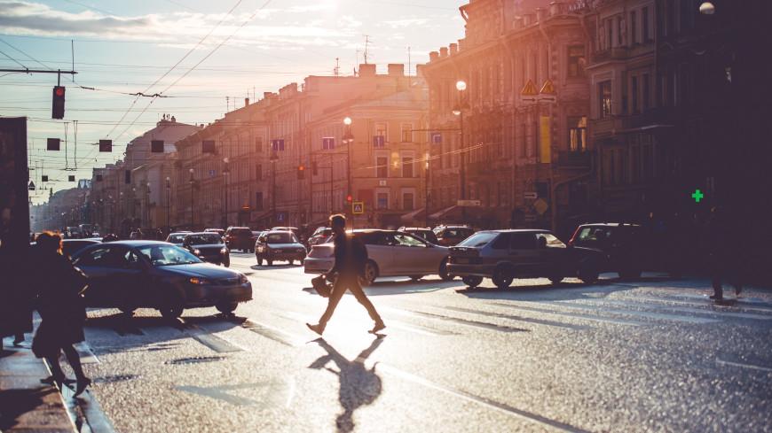 Жара в Петербурге: горожане устремились на пляжи