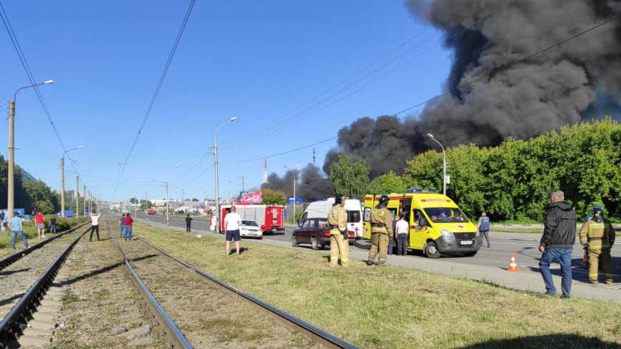 Три кыргызстанца пострадали при взрыве на АЗС в Новосибирске
