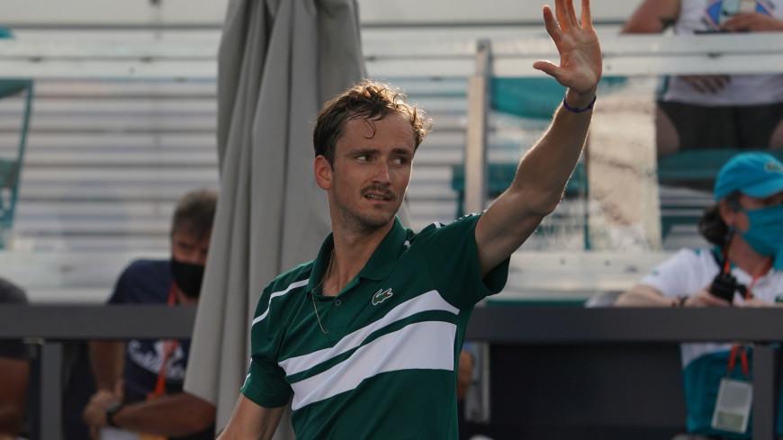 Медведев прошел в третий круг «Ролан Гаррос»