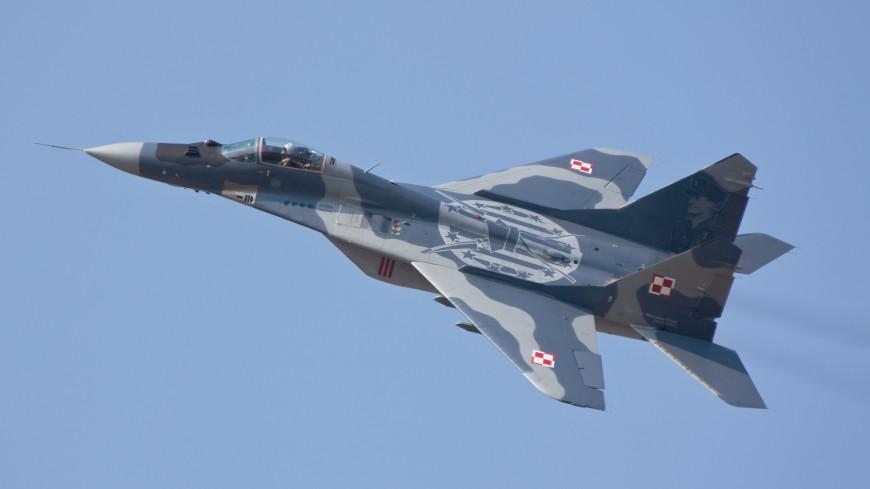 Польский истребитель во время учений обстрелял соседний самолет