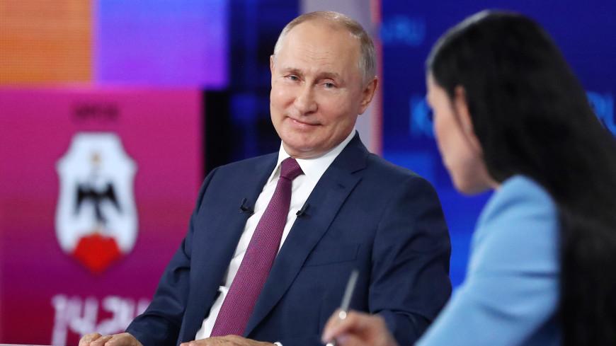 Любимые песни и книги: личные вопросы Владимиру Путину