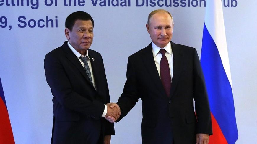 Путин и Дутерте обсудили поставки российских вакцин от коронавируса на Филиппины