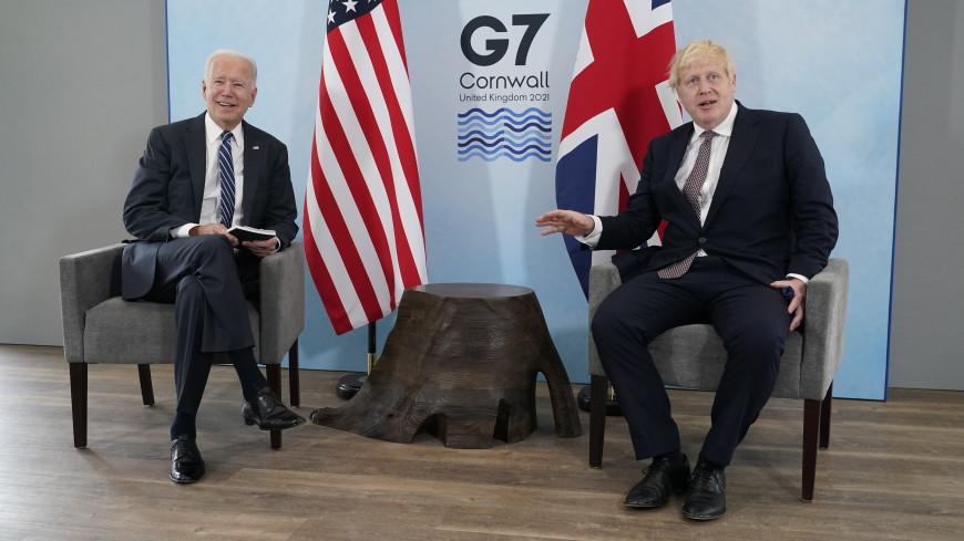 Байден и Джонсон обсудили ряд внешнеполитических вопросов, включая Россию
