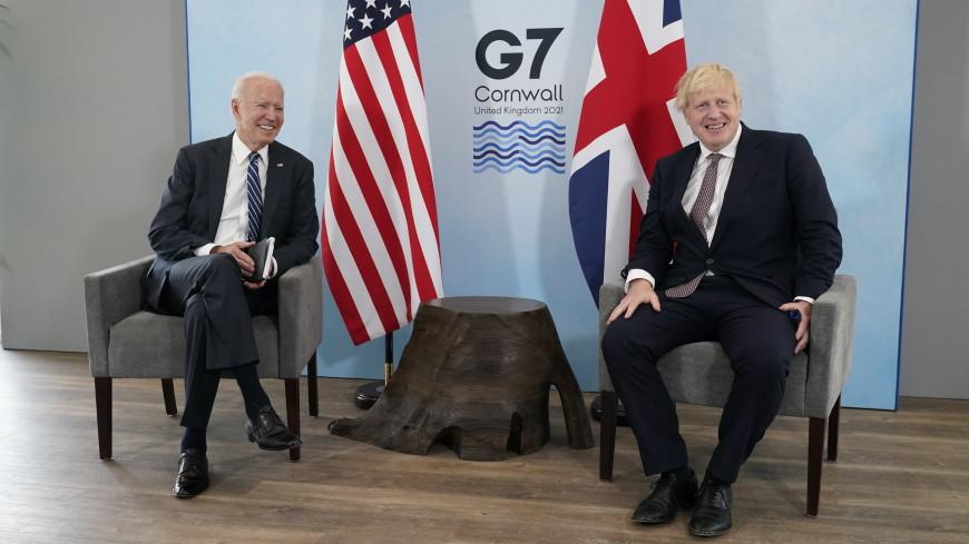 Обзор зарубежных СМИ: «потрясающая» встреча Байдена и Джонсона и засуха в США