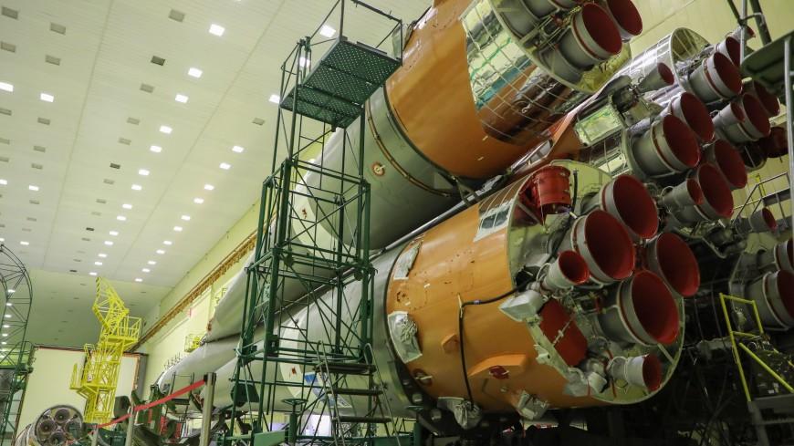 Ракету «Союз-2.1а» с грузовиком «Прогресс МС-17» привезли на Байконур