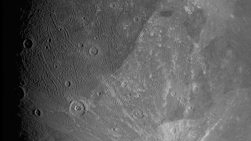 Зонд NASA сделал новые снимки крупнейшего спутника Юпитера