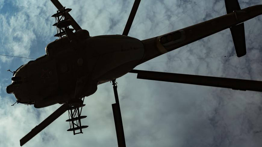 Названа возможная причина крушения вертолета в Ленобласти