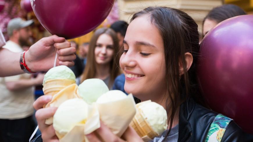 Жители Москвы оказались самыми большими любителями мороженого в России