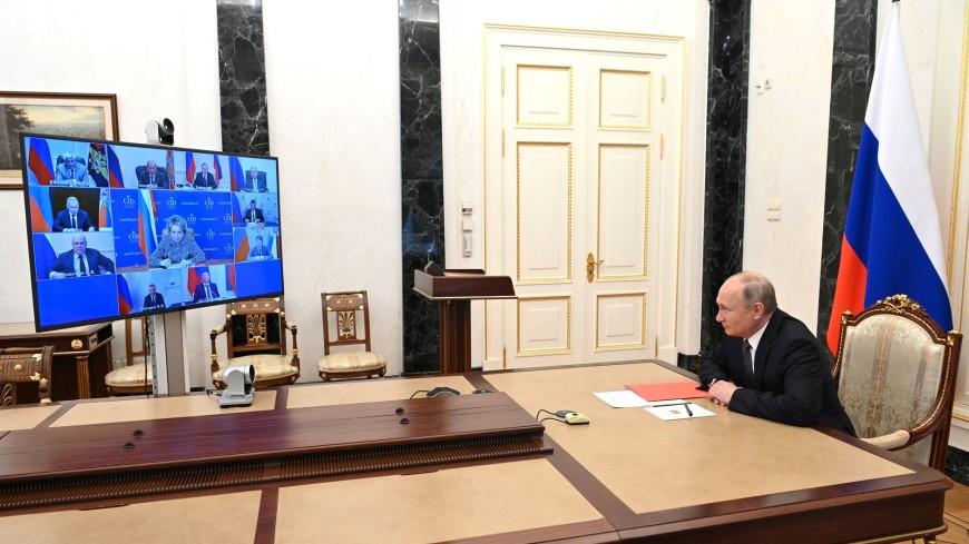 Путин обсудил с Совбезом тему кибербезопасности
