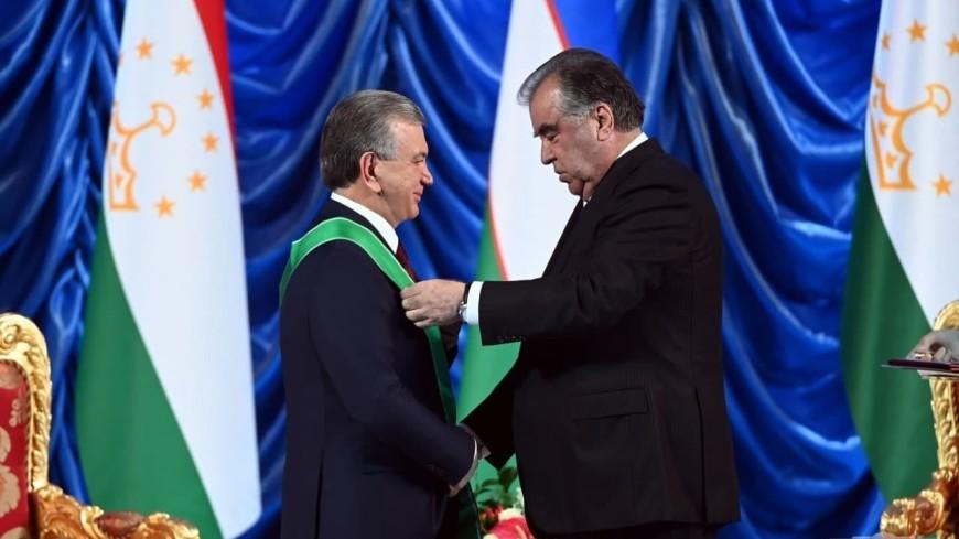Эмомали Рахмон наградил Шавката Мирзиеева орденом «Зарринточ» I степени