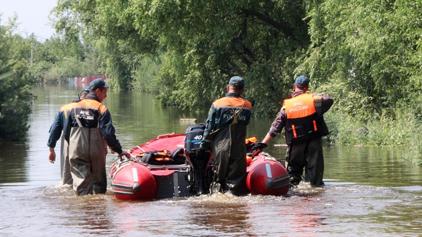 Эвакуированы около четырех тысяч жителей подтопленных населенных пунктов Дальнего Востока