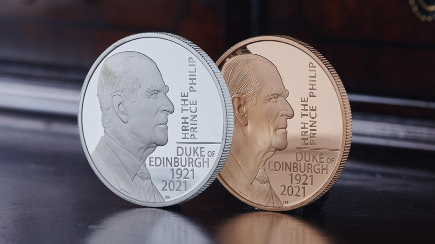 Памятную монету с принцем Филиппом выпустили в Великобритании