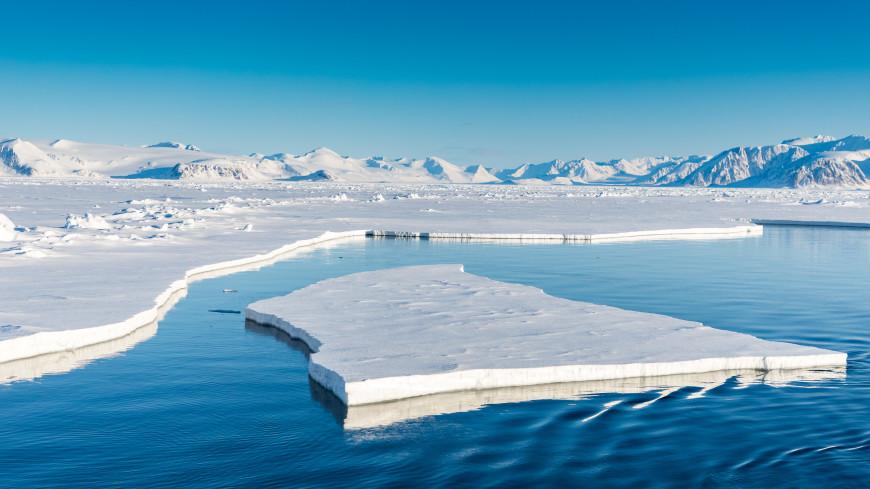 Морской лед в Арктике тает вдвое быстрее, чем считалось