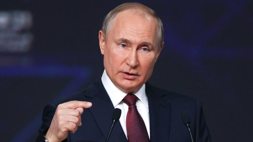 Выступление Путина на ПМЭФ: акцент – на здоровье и условия жизни человека