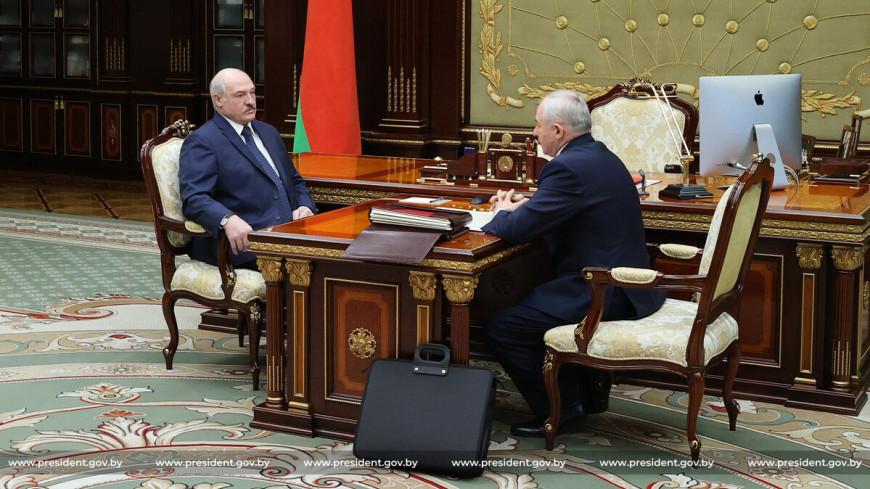 Сработали в плюс: Лукашенко встретился с главой управделами президента Шейманом