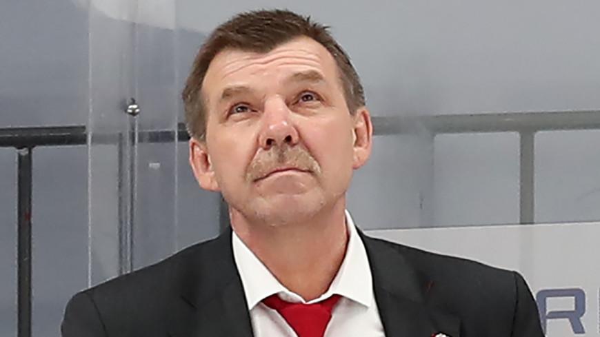 Хоккейный «Спартак» решил не продлевать контракт с Олегом Знарком