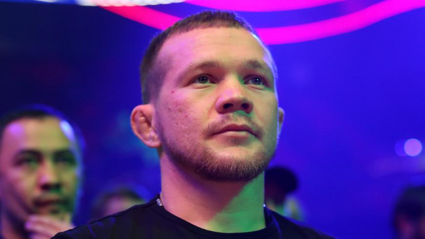 Россиянин Петр Ян дисквалифицирован за удар коленом в титульном поединке
