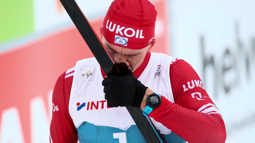 Большунов занял второе место в марафоне на чемпионате мира по лыжным гонкам