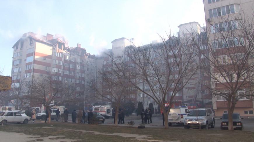 Жильцы сгоревших квартир в Анапе проведут ночь у родственников