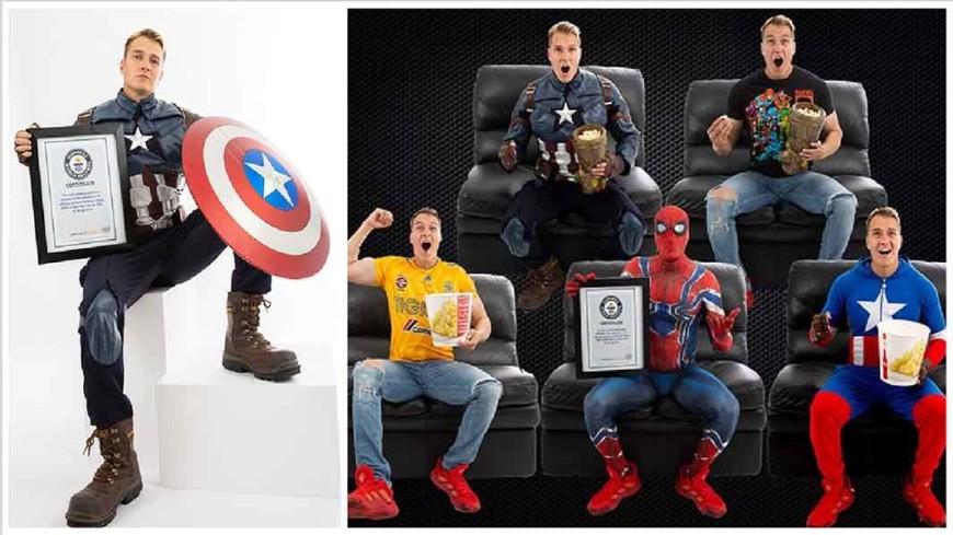 Фанат Marvel 191 раз посмотрел «Мстители: Финал» и попал в Книгу рекордов Гиннесса