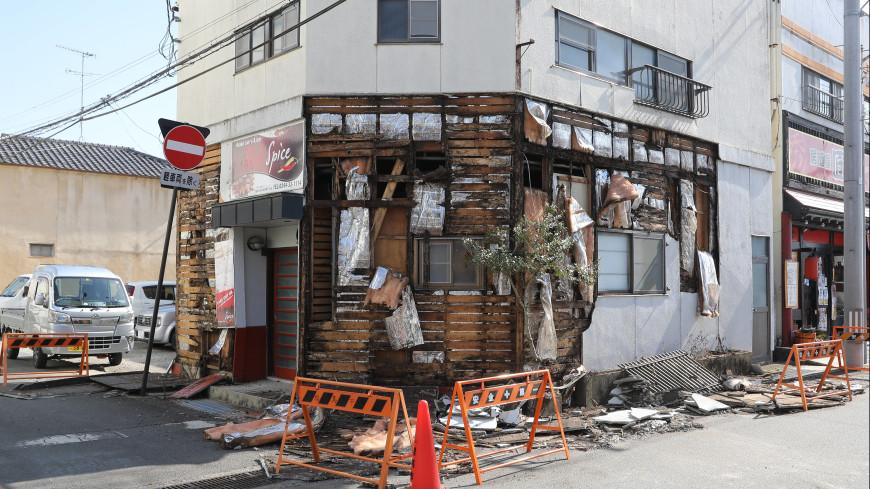 В Японии в результате землетрясения пострадали не менее восьми человек