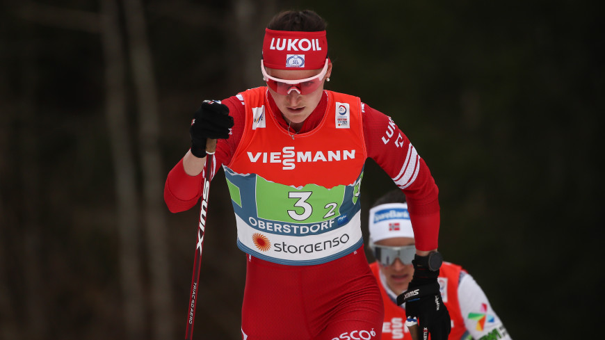 Российская лыжница Юлия Ступак заняла второе место в общем зачете КМ