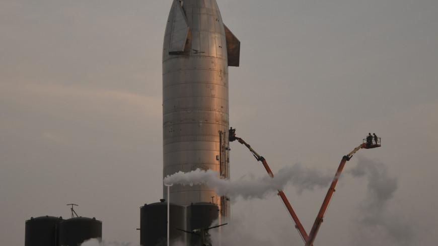 Прототип корабля Starship взорвался при посадке (ВИДЕО)