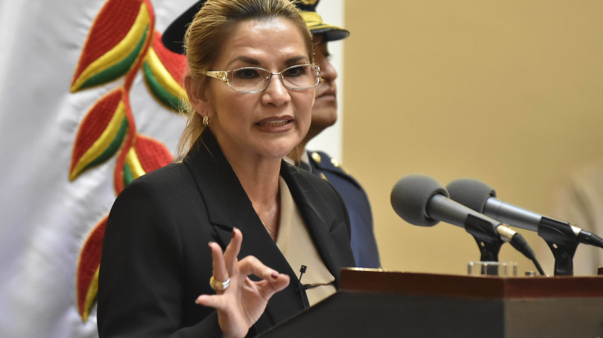 Бывшего президента Боливии Аньес арестовали на четыре месяца