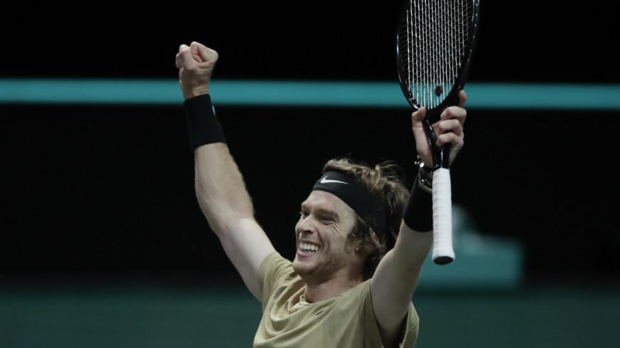 Рублев стал полуфиналистом турнира в Дохе, не сыграв в нем ни одной игры