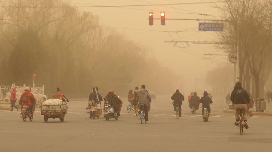 Песчаная буря: стихия ударила по Монголии, Китаю и Персидскому заливу