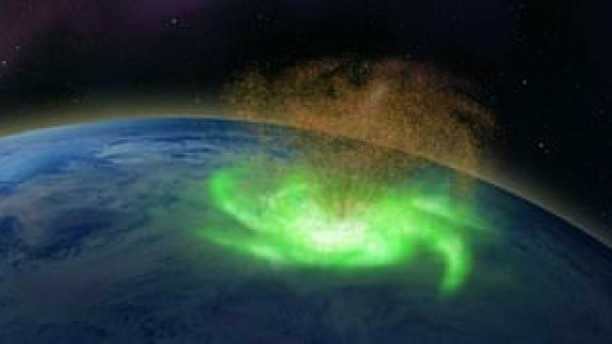 В атмосфере Земли впервые заметили космические ураганы