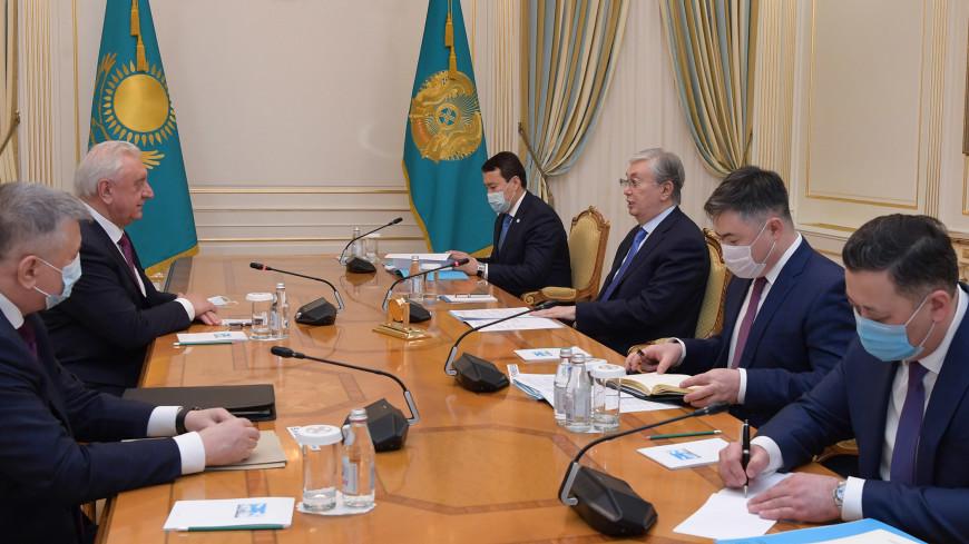 Токаев обсудил с Мясниковичем приоритеты председательства Казахстана в ЕАЭС в 2021 году