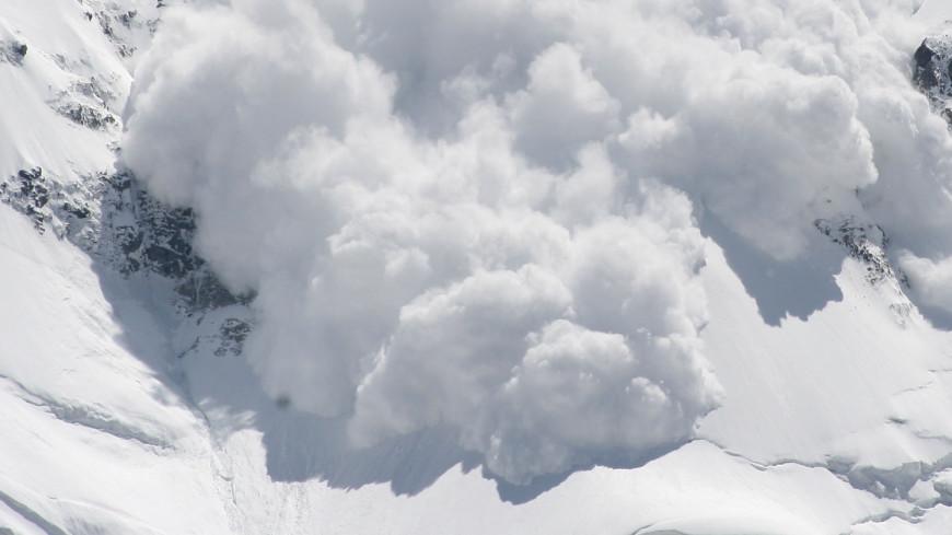 лавина Камчатка