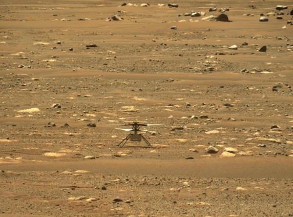 Марсианский вертолет NASA впервые перелетел в новый район исследований