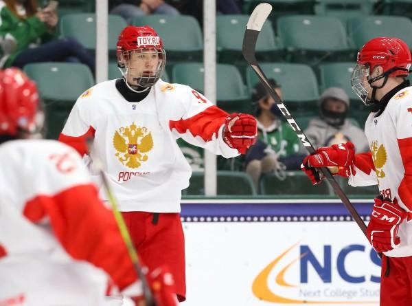 Сборная России вышла в финал юниорского ЧМ по хоккею и сыграет с Канадой