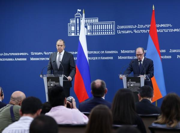 Лавров: Россия и Армения готовятся отметить две юбилейные даты
