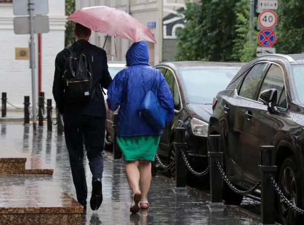 Сильнейший за 25 лет ливень пройдет в субботу в Москве