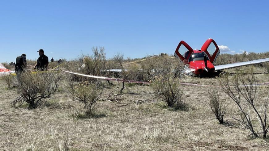Два самолета в США столкнулись в полете