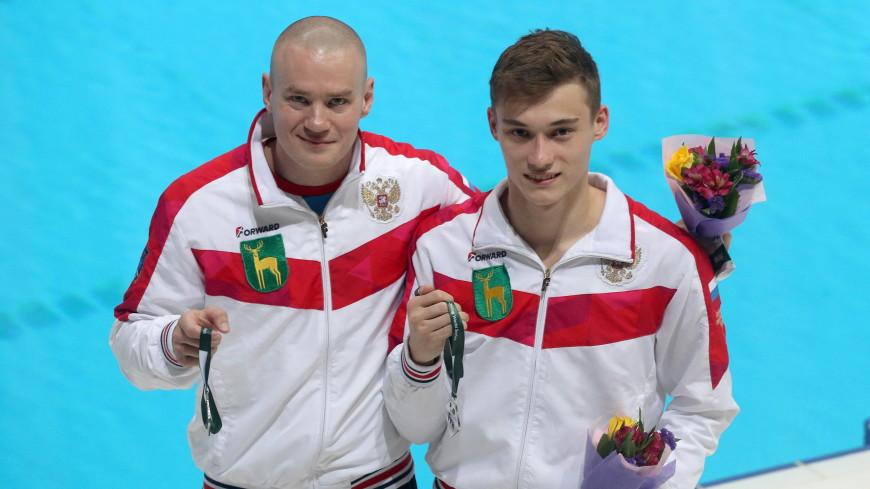 Россияне Кузнецов и Шлейхер завоевали серебро на чемпионате Европы по прыжкам в воду