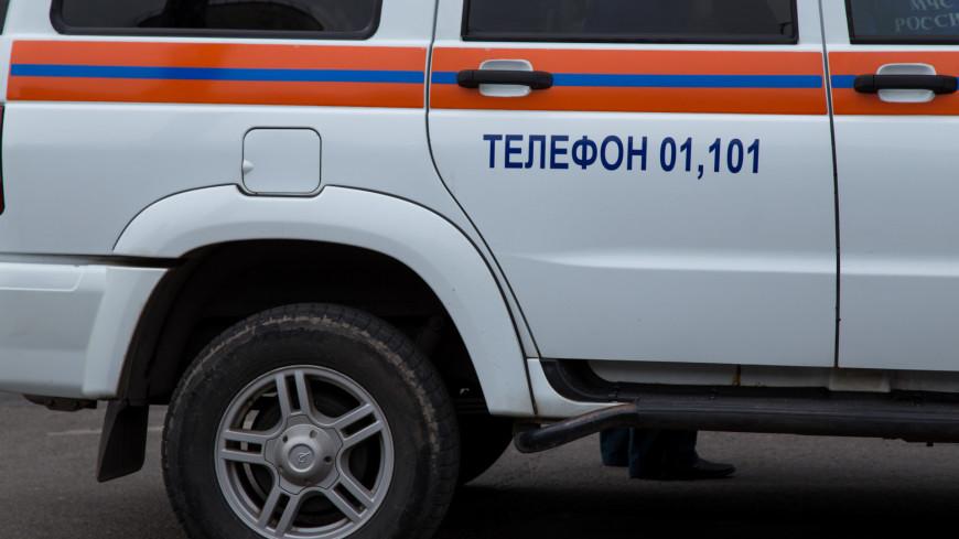 Из-за пожара в гостинице на юго-востоке Москвы эвакуируют людей