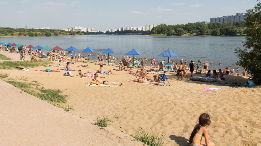 Роспотребнадзор одобрил в водоемах Москвы восемь зон для купания