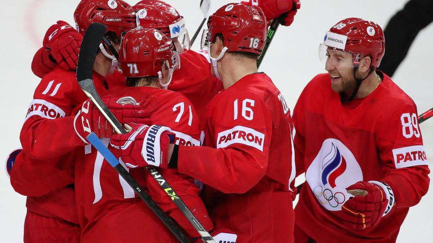 Сборная России обыграла Данию на ЧМ по хоккею