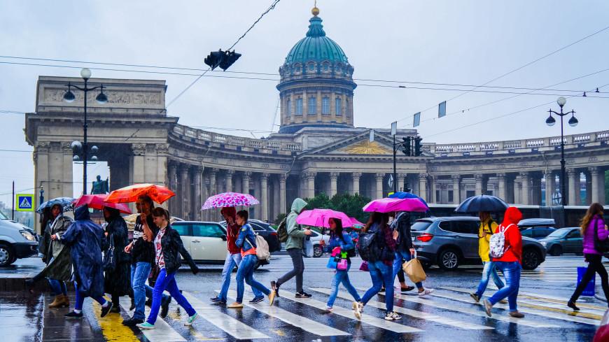 Суточный рекорд по количеству осадков установлен в Петербурге
